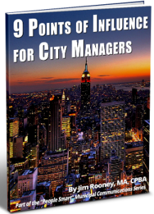 9 points of influence for city managers